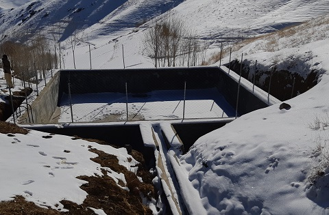 Daima Water Reservoir at Nili District