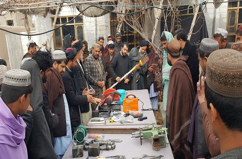 Distribution of new technology and toolkits - Uruzgan (1)